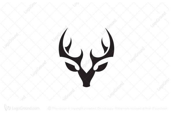 Deer Logo Fancy Logo Fancy Logo Deer Design Logo Logo Deer