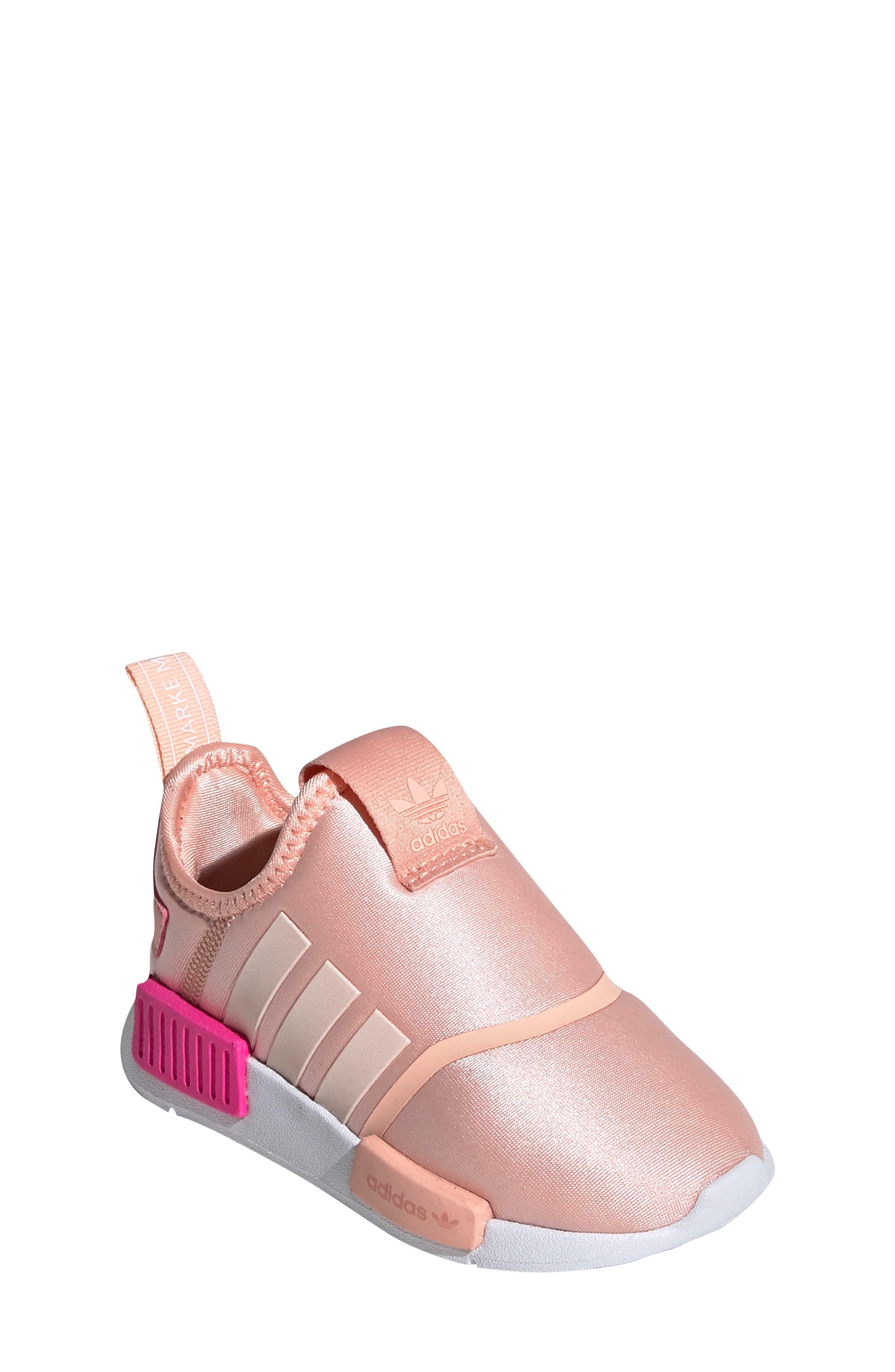 adidas Childrens NMD 360 Glow Pink & White | adidas NMD Kids