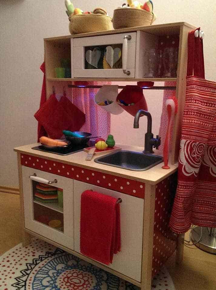DIY Wir pimpen unsere Kinderküche Duktig + Zubehör Küche - kinder spiel k chen