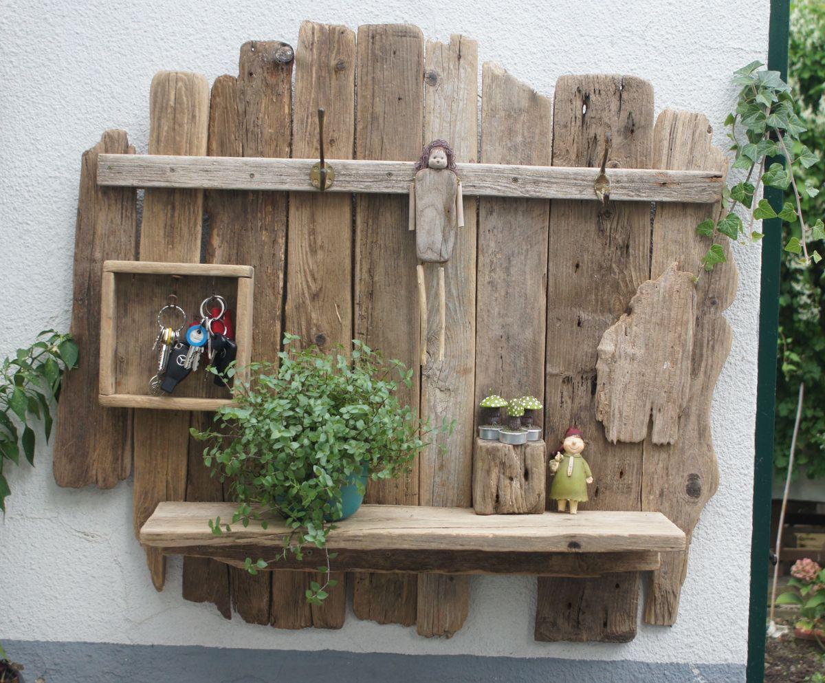 Holz, Treibholz Regal Und Treibholz
