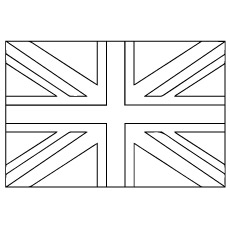 Bandiera Inglese Da Colorare.Pin By Sabina On London In 2020 Flag Coloring Pages Flag