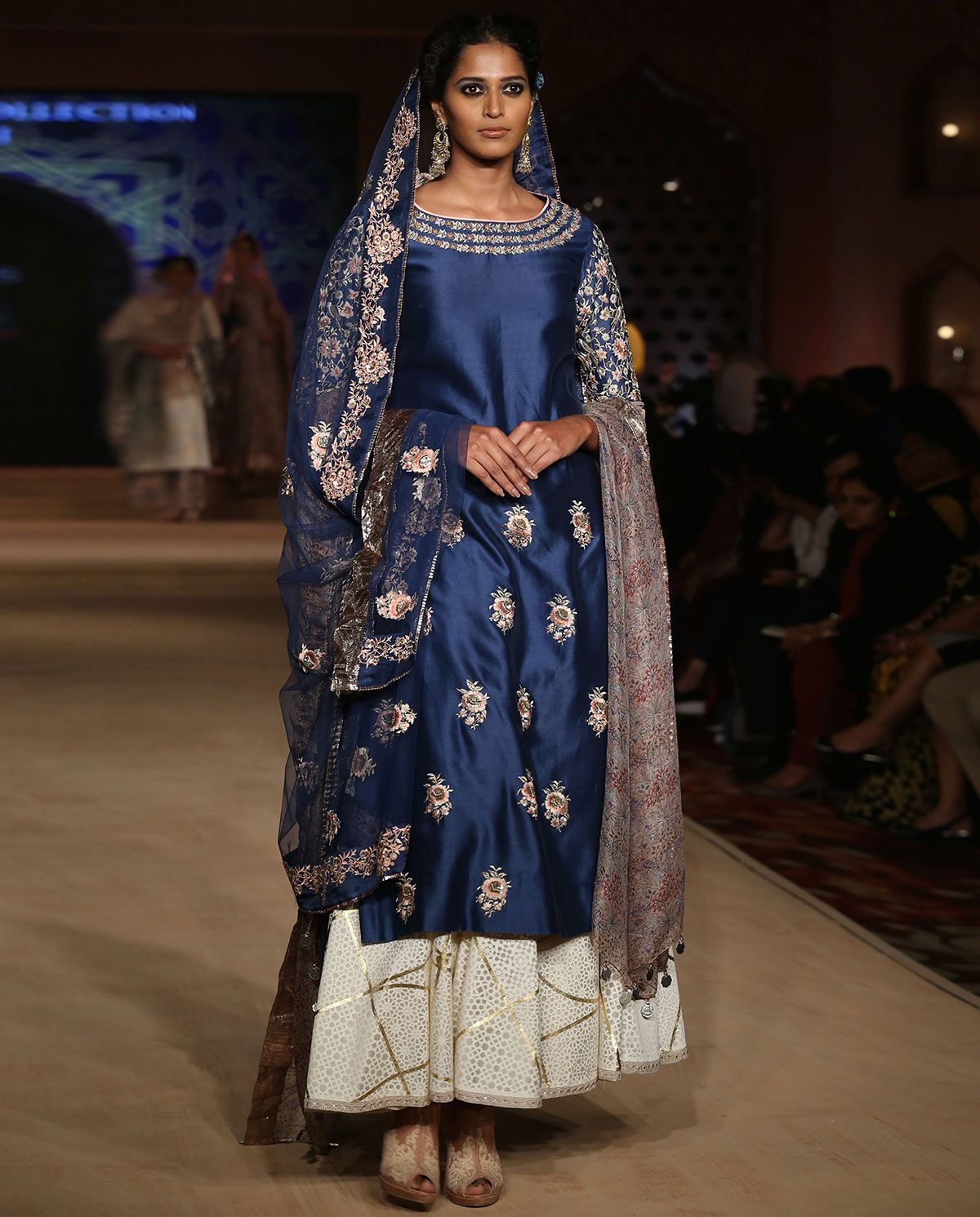 Bajirao Mastani Indigo Kurta Set | Indian bridal wear ...