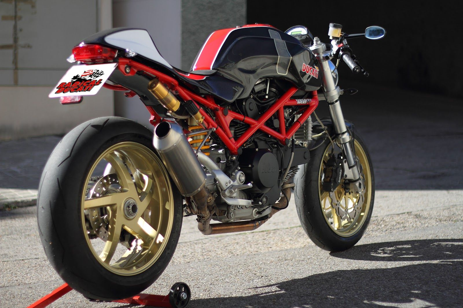 Manx Kit For Ducati Monster By Radical