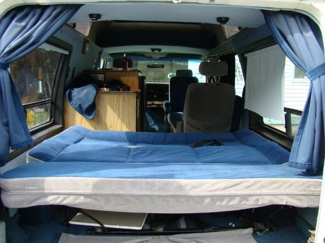 Ford Camper Van Interiors