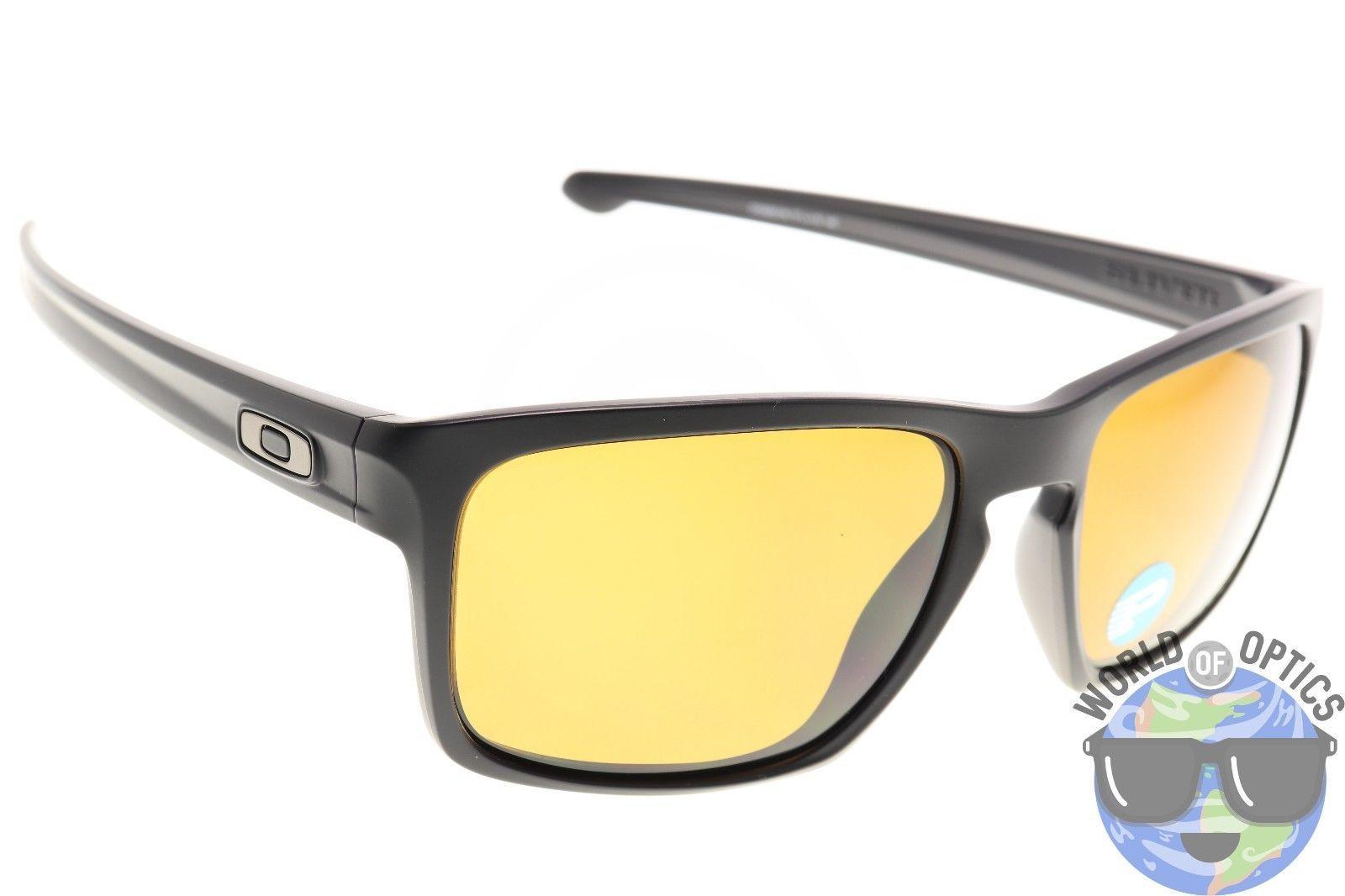 5636c462a9 Oakley Sliver Sunglasses OO9262-08 Matte Black Frame w  Bronze Polarized  Lenses