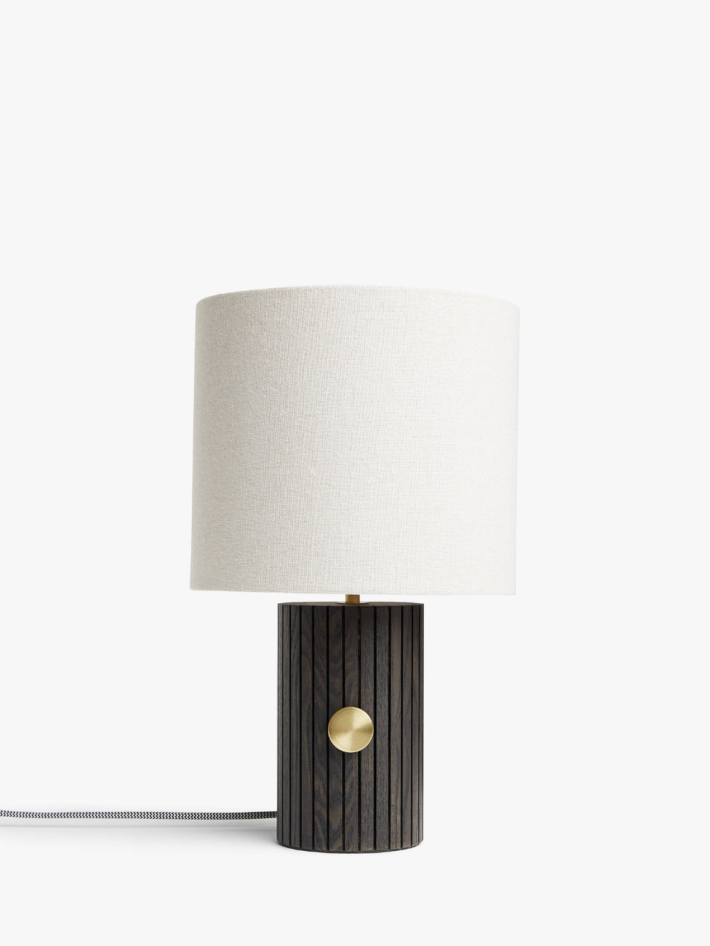 John Lewis Partners Podium Touch Table Lamp Ash Touch Table Lamps Table Lamp Touch Table