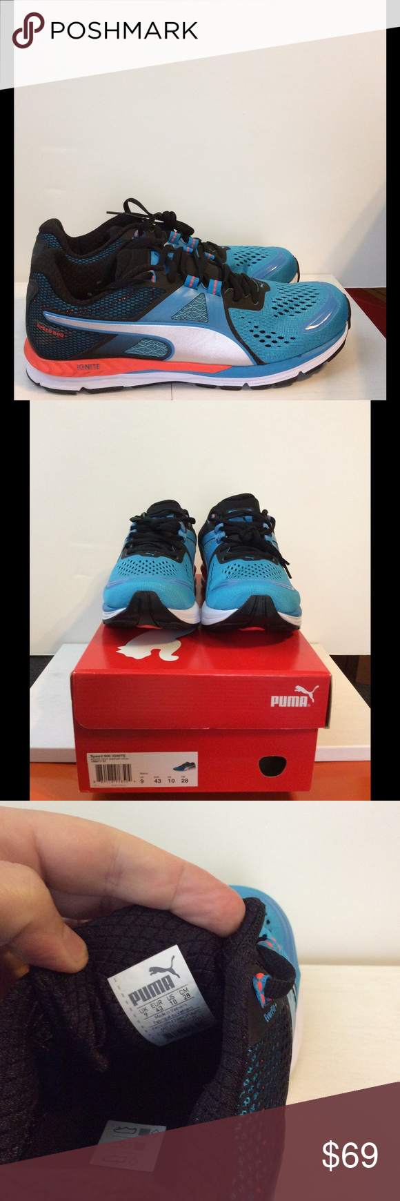 New PUMA Speed 600 IGNITE Running Shoes Blue 10 Make this yours! Puma New  in Box Speed 600 Ignite Running Shoe. The Measurements  Mens US 10 Eur 43  Shipping ... 36c00b3c4