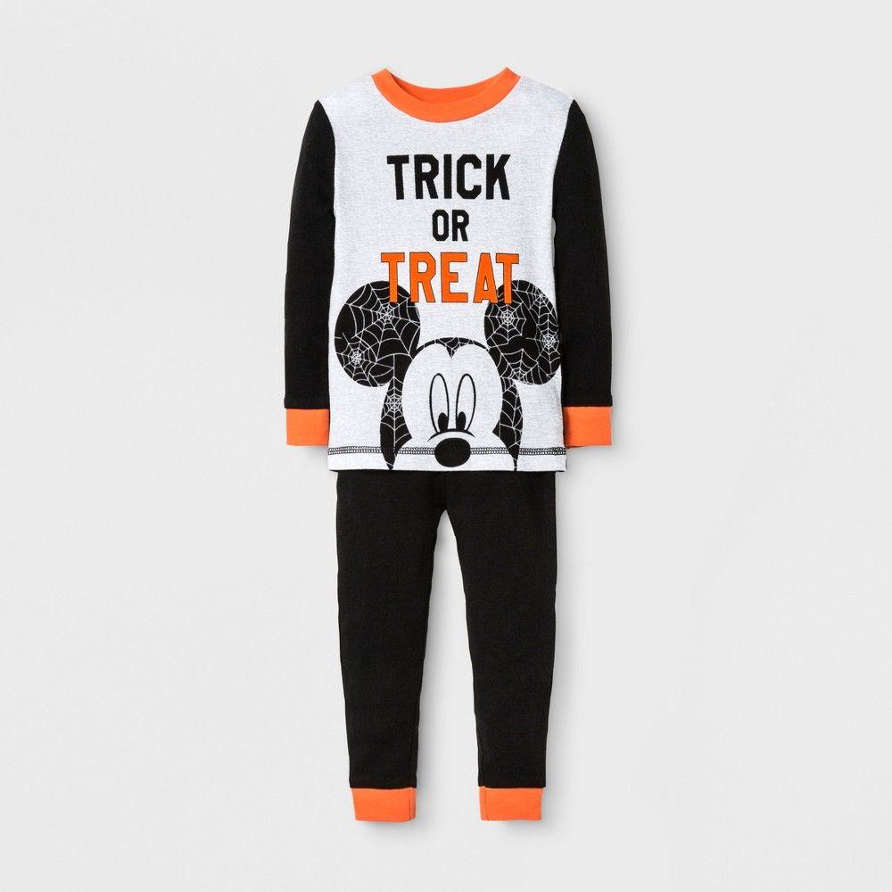 7d7b4f987afc Disney Baby Boys  Mickey Mouse Trick or Treat 2pc Cotton Pajama Set ...