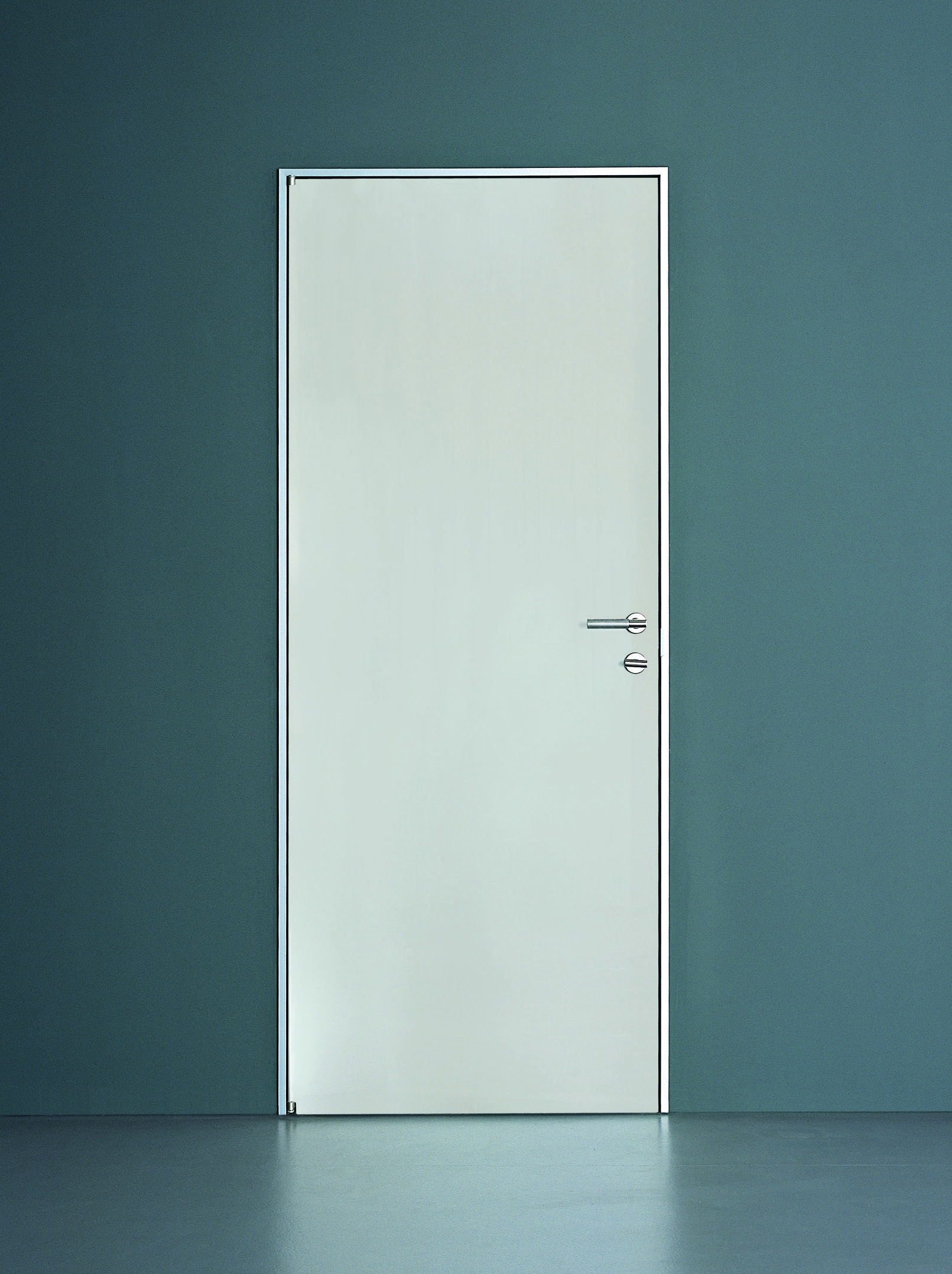 DOOR FLUSH WITH THE WALL PLANUS TRE-PIÙ COLLECTION BY TRE P & TRE ...