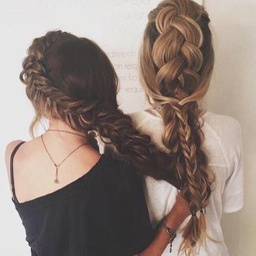 Imagem Através Do We Heart It #braid #girl #goals #hair #hairstyles