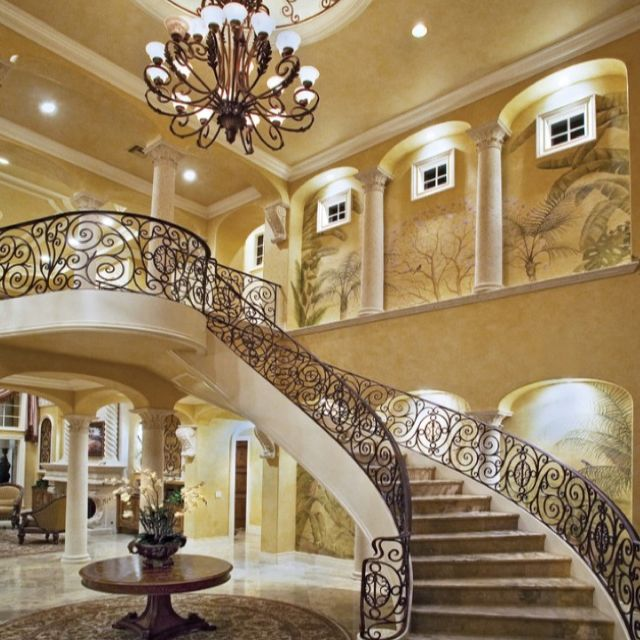 Stairs, Chandelier, Grand Entrance #methodcandles