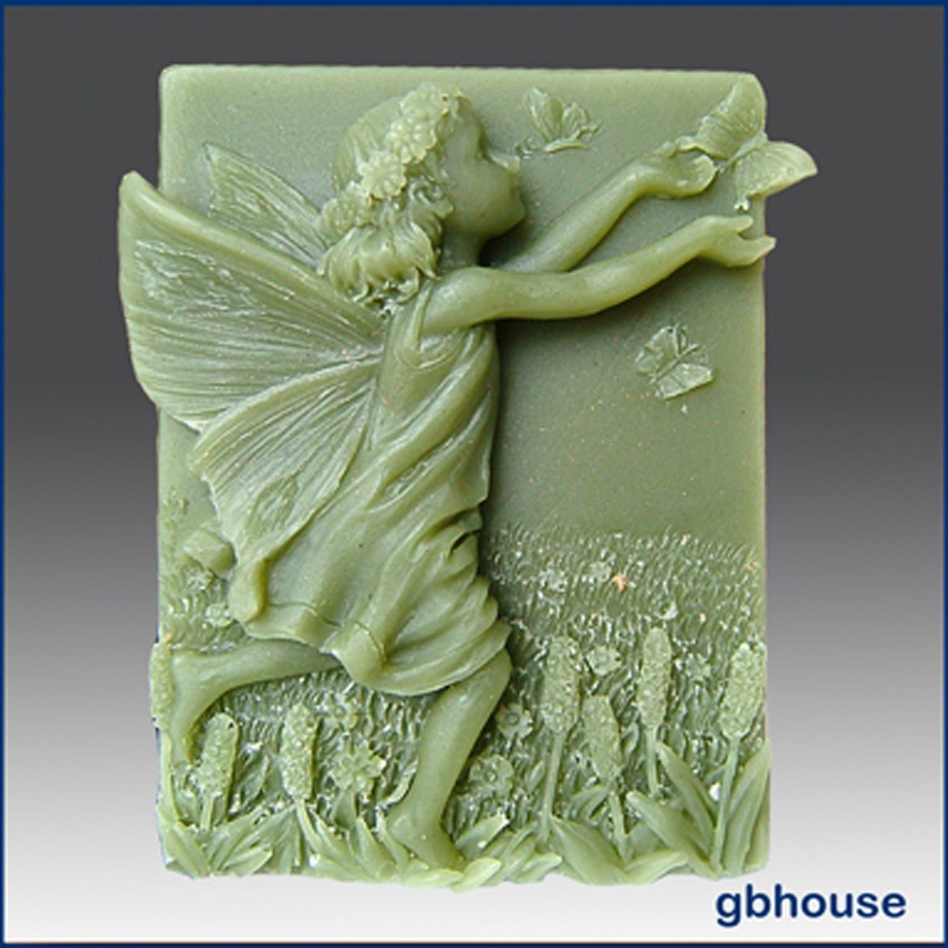 Silicone soap mold adelaide fairy of the meadows named adelaide
