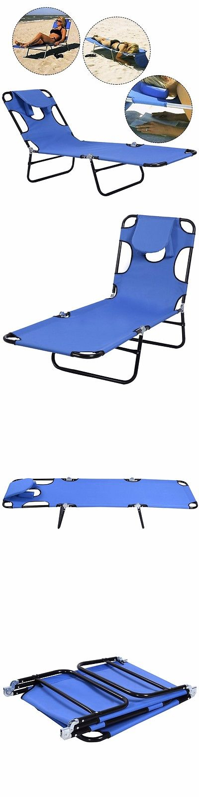 Cots 87099: Camping Bed Outdoor Cot Folding Sleeping Hiking Portable Military Sun Lounger BUY IT NOW ONLY: $37.5