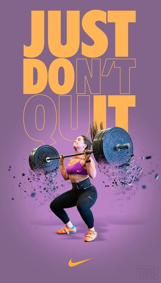The Best Nike Motivation Posters Motivate Yourself Just Do It Graphic Design Ads Graphic Design Advertising Sports Graphic Design