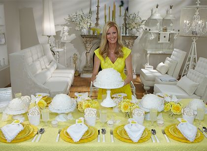 Yellow Table Setting tablescape http://www.semihomemade.com/img ...