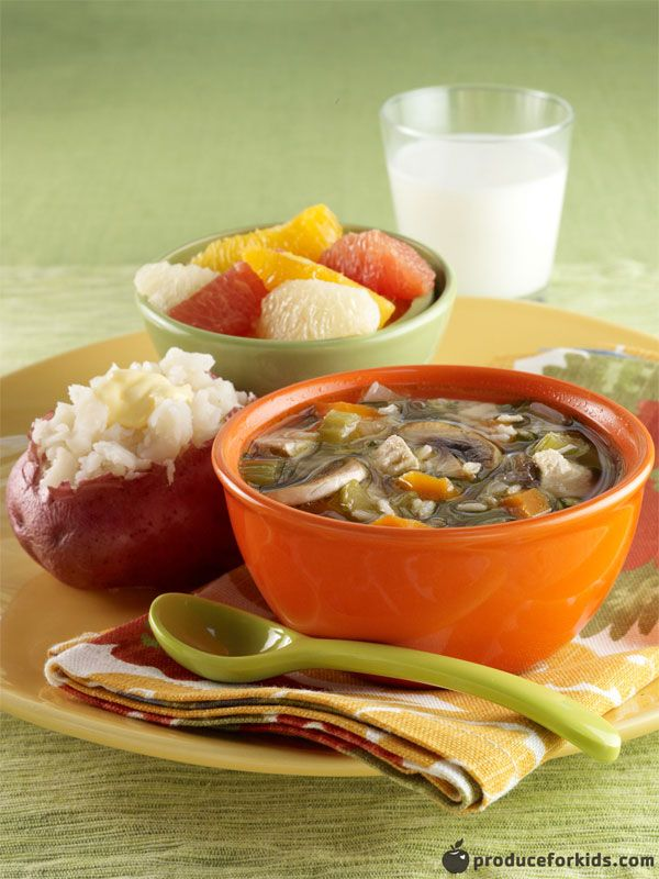 Roasted Vegetable Chicken Soup