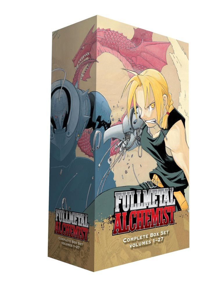 Fullmetal Alchemist Box Set: Hiromu Arakawa: 9781421541952: Amazon.com: Books