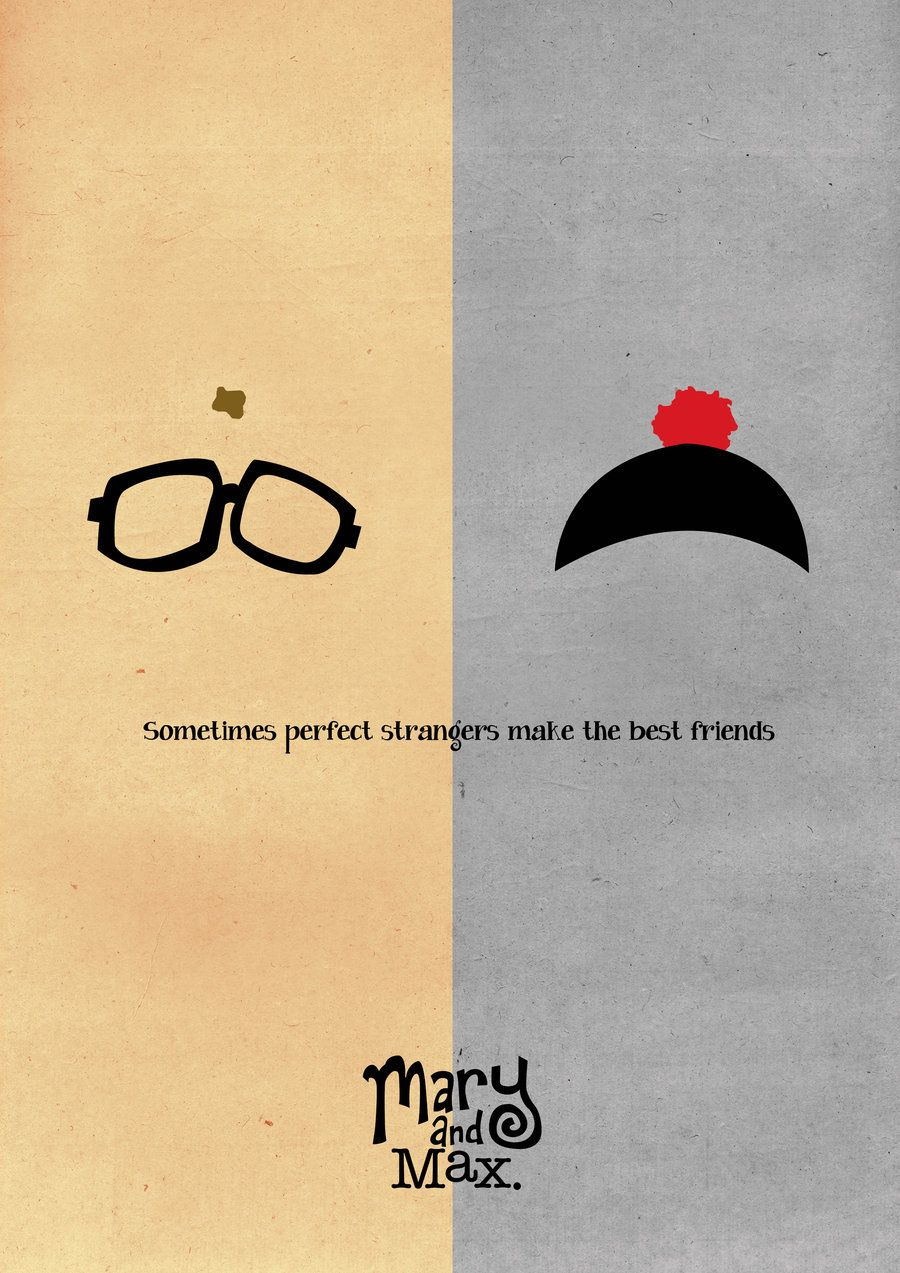 Mary And Max By Basolian On Deviantart Mary And Max Max Movie Perfect Strangers