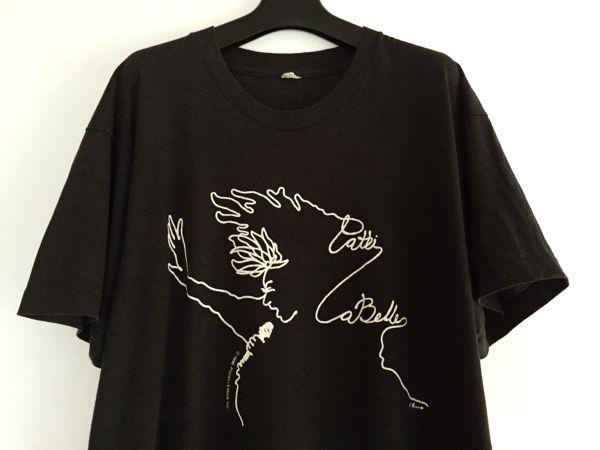 80s Patti LaBelle Tシャツ パティラベル ピーターマックス 後付 - ヤフオク!