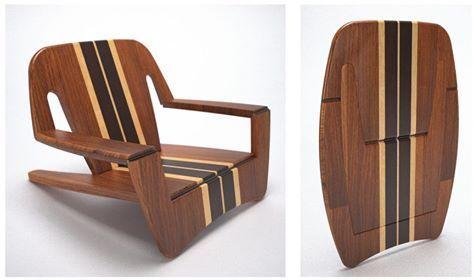 Silla de playa FAO desarrollada por Junior Ramos para - sillas de playa