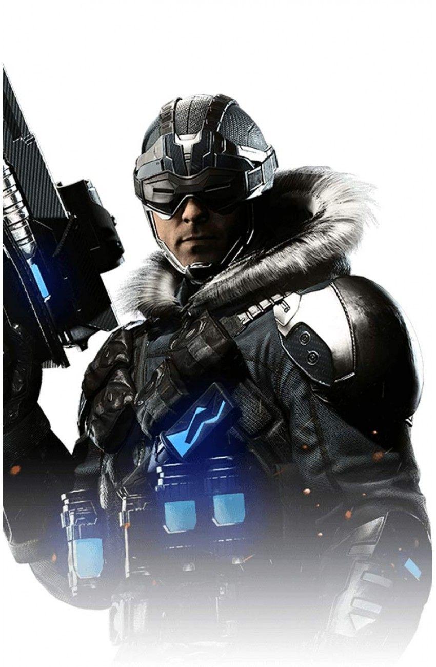Injustice 2 Captain Cold Coat Parka Jacket Style Injustice 2 Captain Cold Batman Injustice