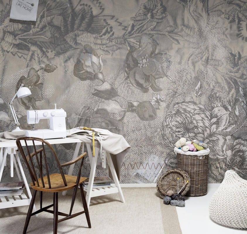 Mr Perswall wallpaper - Floral Grace www.mrperswall.se www.mrperswall.com