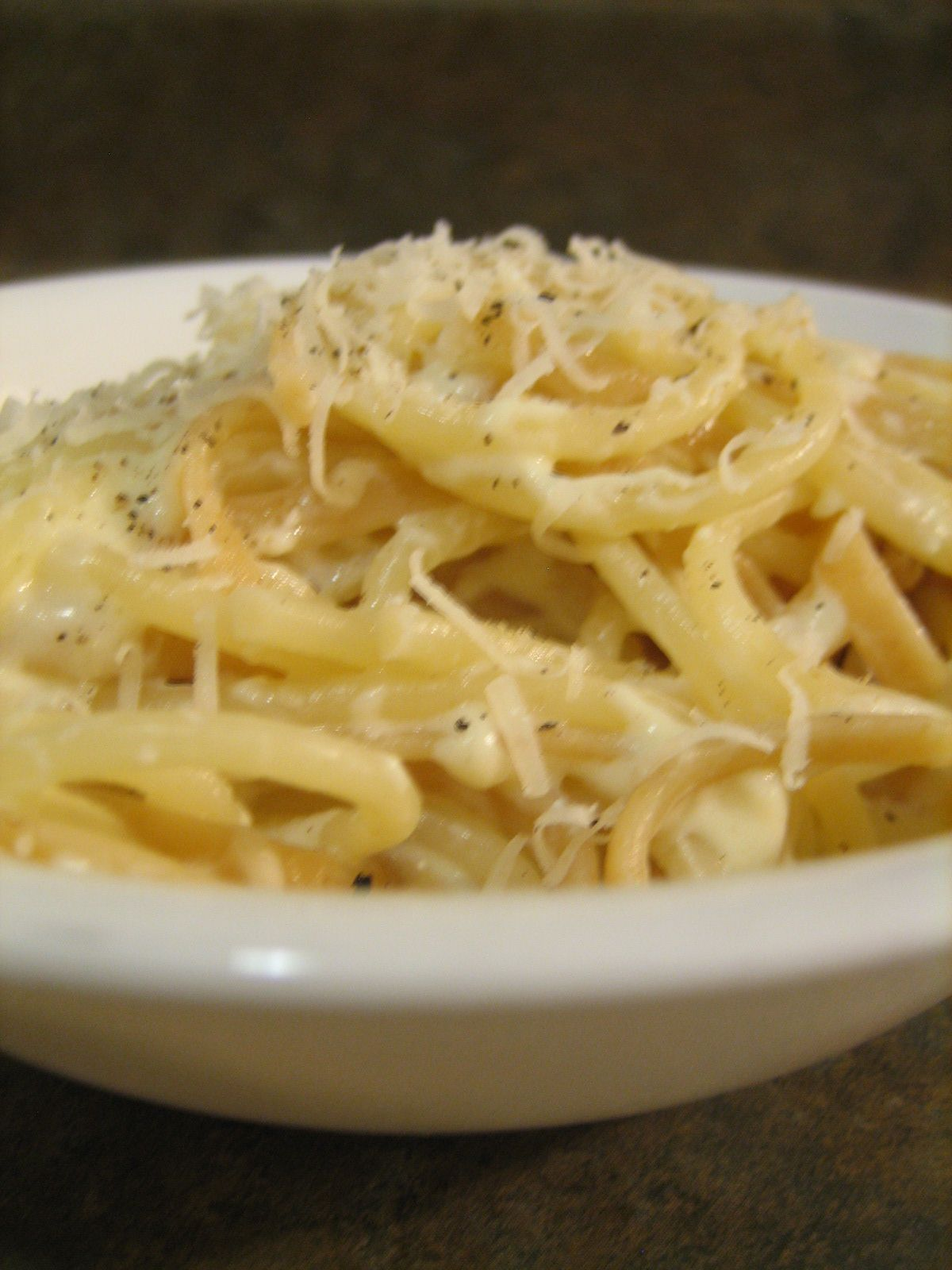 Baking, Domesticity, And All Things Mini: Pasta With Creamy No Cream Sauce! Cottage  Cheese, Parmesan, And An Egg