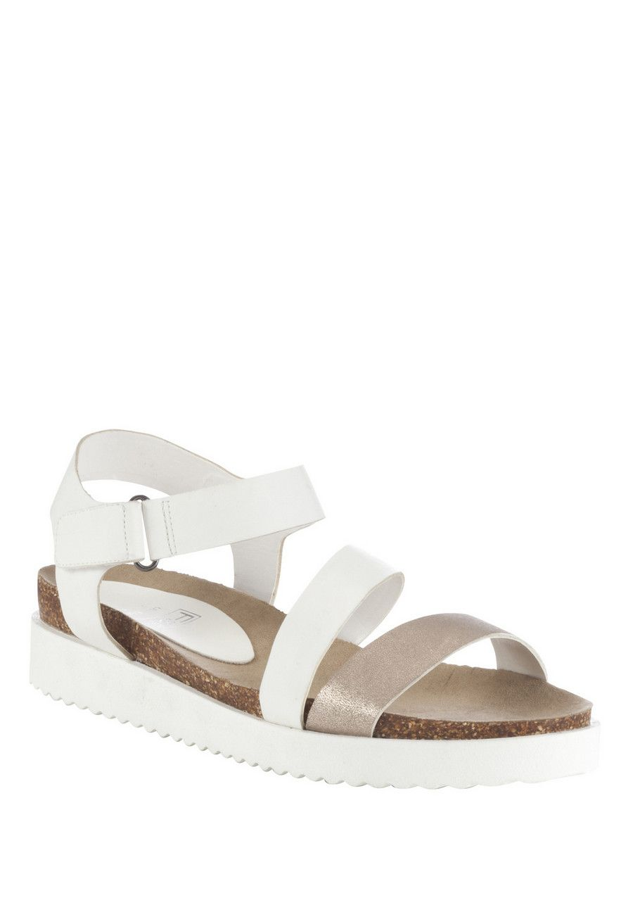 620c8f4cdb76 Clothing at Tesco | F&F Sporty Flatform Sandals > shoes > Holiday Shop >  Women