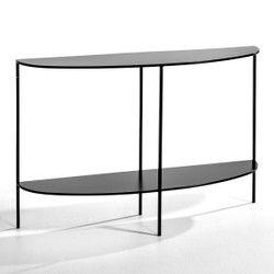 Console Demi Lune Metal Anya Am Pm Table Console Gueridon Console Marbre Console Table Console En Marbre