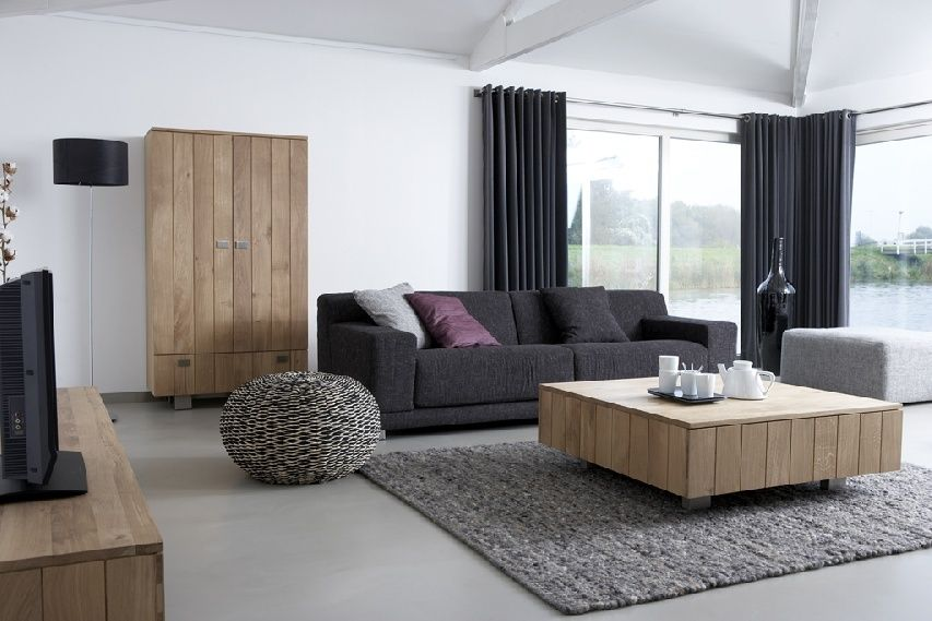 Moderne Woonkamer Bruin: Woonkamer bruin grijs wit consenza for ...