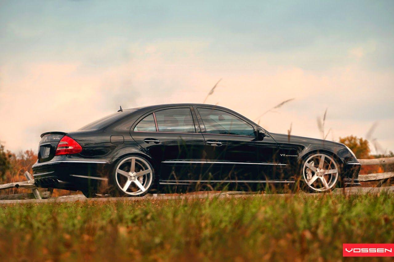 Mercedes Benz 2006 mercedes benz e55 amg : 2006 Mercedes-Benz E55 AMG W211 on Vossen wheels | Benz, Mercedes ...