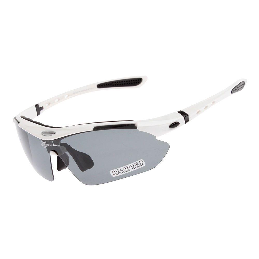 918ed5cabe RockBros Cycling Polarized Sunglasses Bike Goggles Ride Hike Glasses White  UV400  fashion  sporting  goods  cycling  sunglassesgoggles  ad (ebay link)
