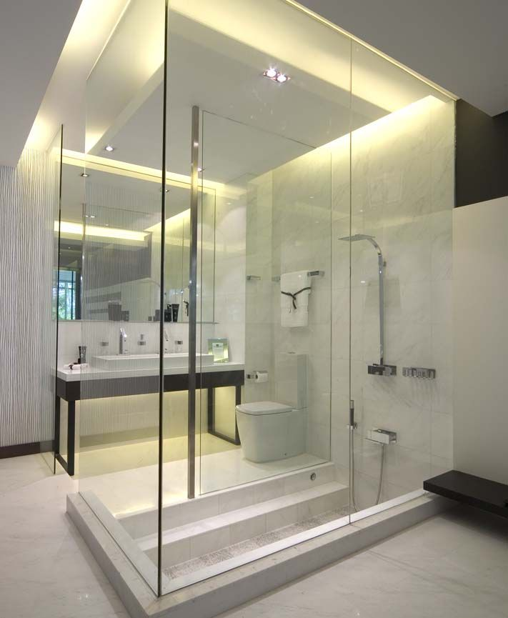 Modern Bathrooms Designs Brilliant Review