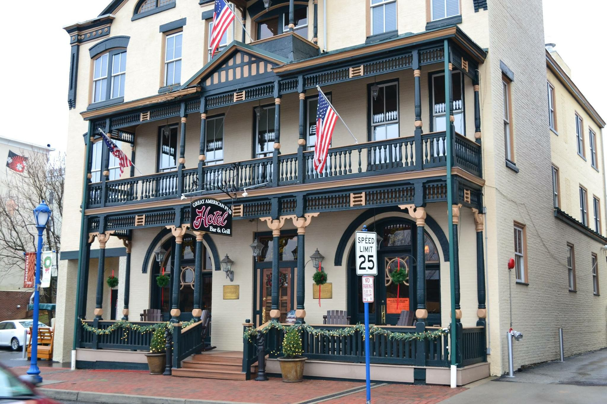 Old Columbia Hotel My 1st Bday Dinner You Took Me On For 22nd