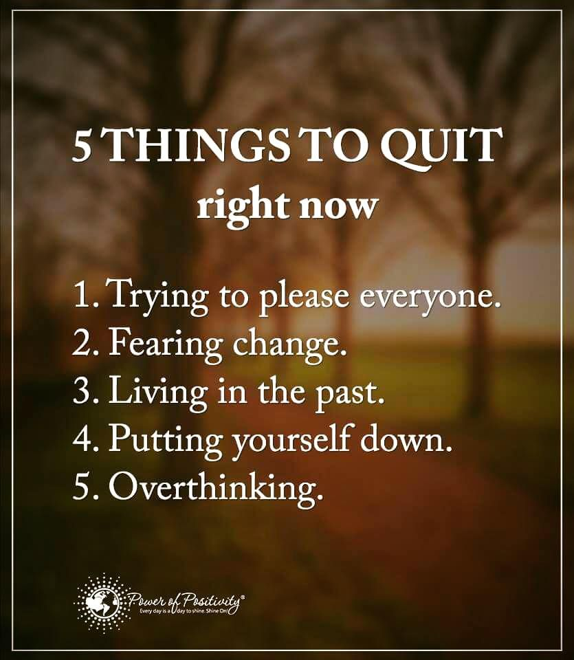 Quote About Life Lessons Life Lessons 5 Things To Quit Right Now.1 Trying To Please