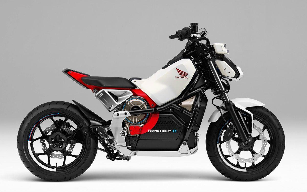 Honda Riding Assist e-concept #honda #electric