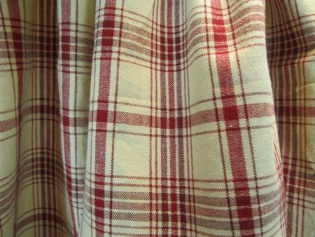 Red And Green Plaid Shower Curtains