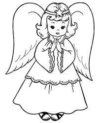 Výsledek obrázku pro mikuláš čert anděl omalovánky