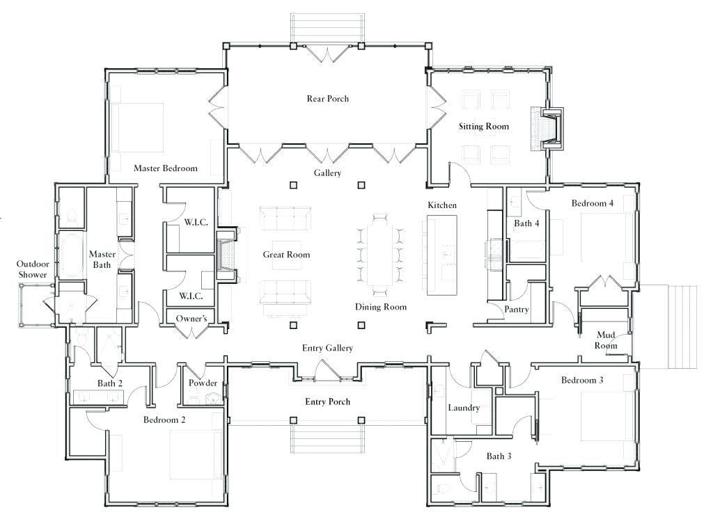 Palmetto Bluff Cottage Floor Plans Google Search Southern House Plans Cottage House Plans How To Plan