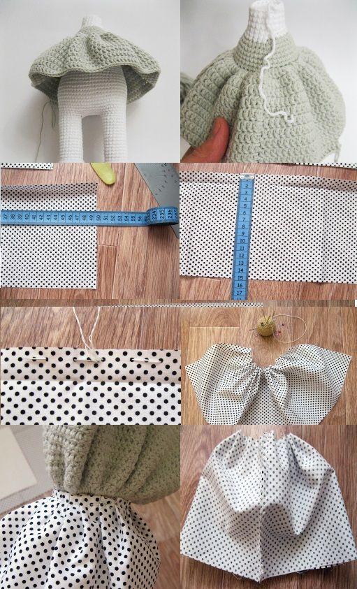 Amigurumi Bebek Elbise Yapımı | Bebek elbiseleri, Amigurumi ... | 843x511