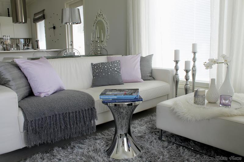 Home White Home: Stailausta - Olohuoneen 4 tyyliä