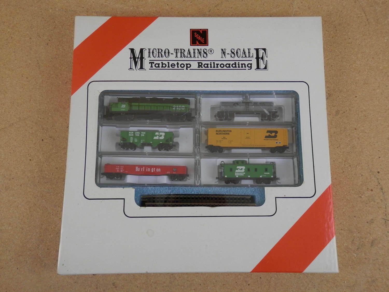 Vintage Kadee Micro Trains N Scale Tabletop Railroad Set
