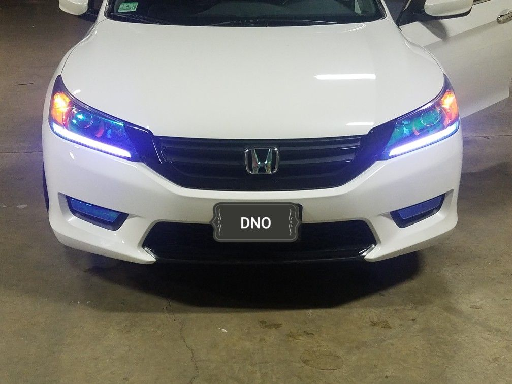 Neo chrome chameleon light blue, all installed by DNO