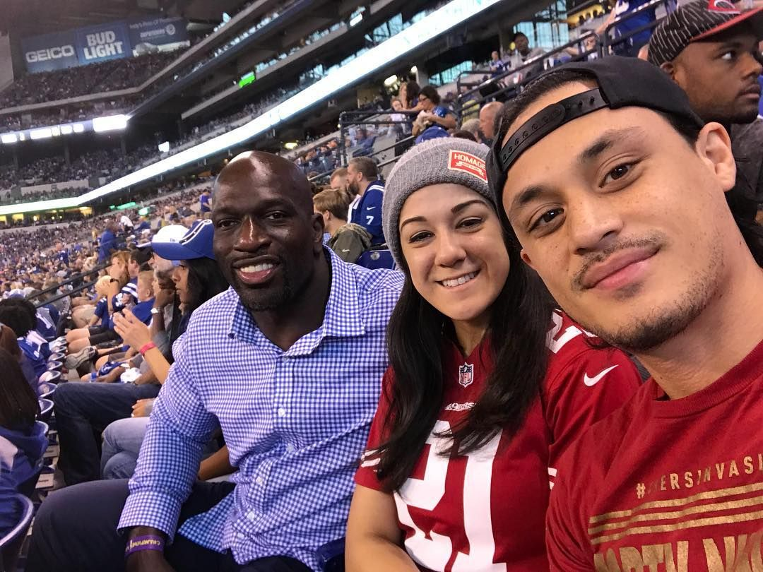 Bayley On Instagram Titusworldwide At The Coltsvs49ers Game