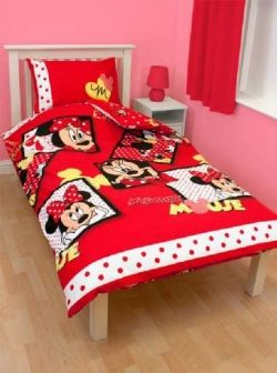 Minnie Mouse Themed Bedroom | Meagan\'s favorite | Minnie mouse ...