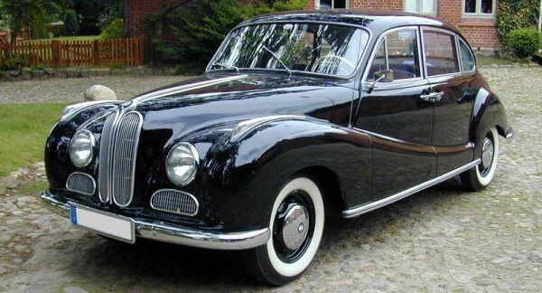 BMW 501 Année de production: 1952 - 1962 Exemplaire produit: 8.951 ...