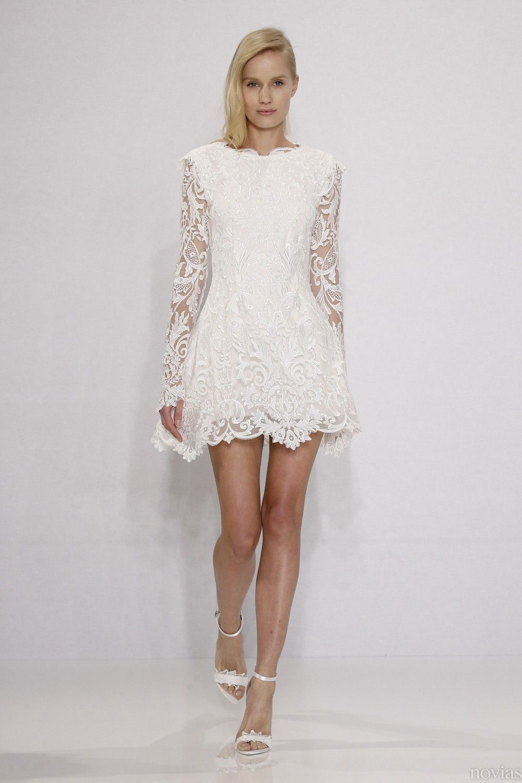Vestido de novia de Christian Siriano. Tendencia: vestidos de novia ...