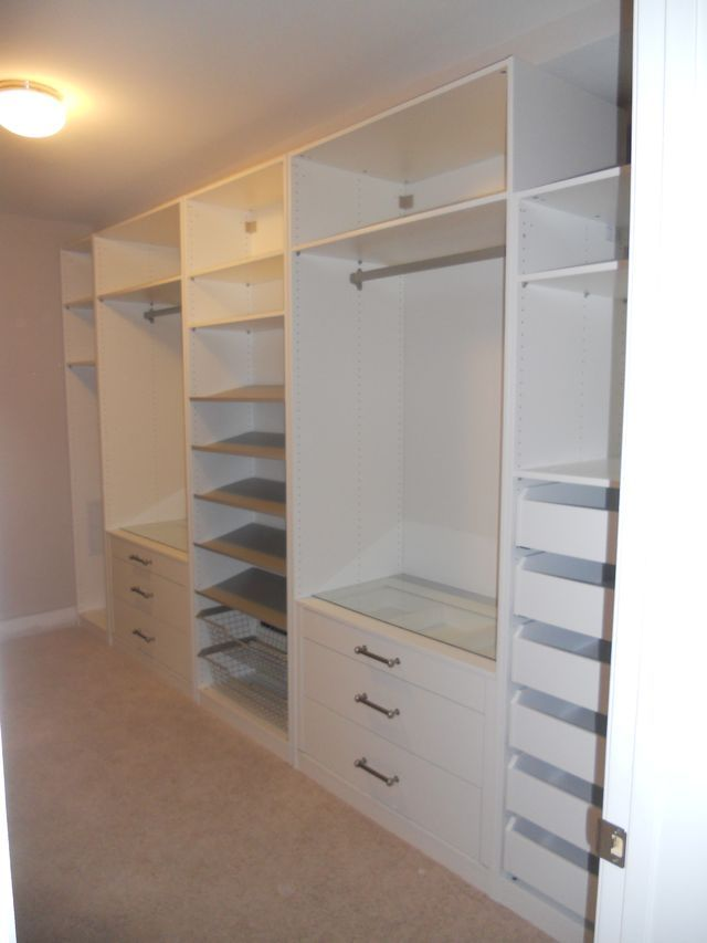 walk in closet ikea pax remember the glas with jewelery drawer inlet underneath