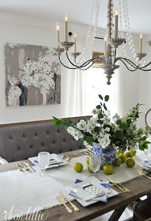 Dear Lillie Deann Art In Dining Room Dear Lillie Decor