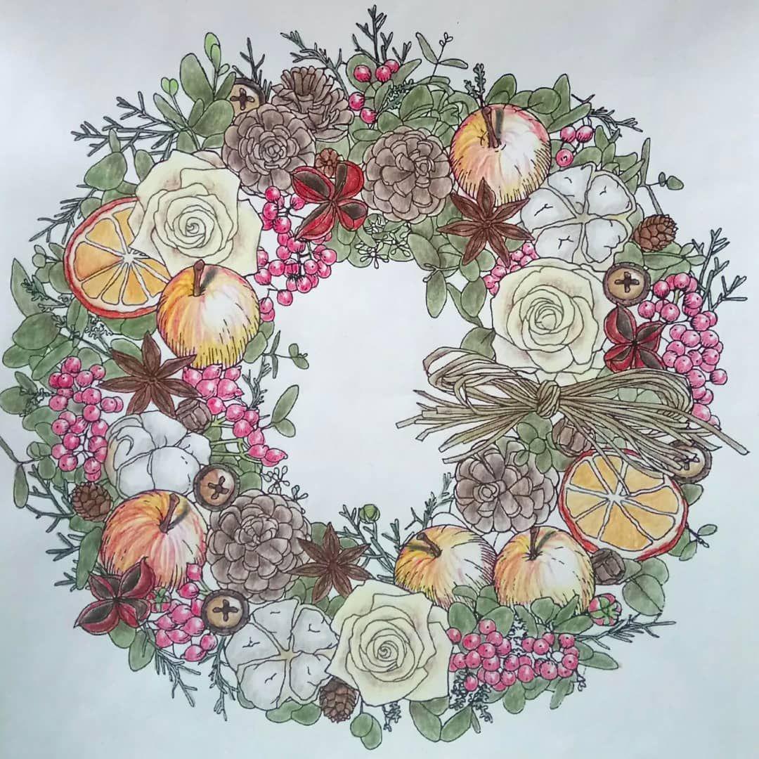 Перед Новым годом многие стали делать венки с апельсинами ...